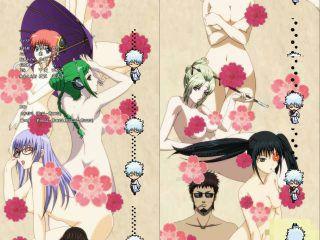 アニメ「銀魂」の新EDで女キャラの全裸祭りwwwwwwww(画像あり)