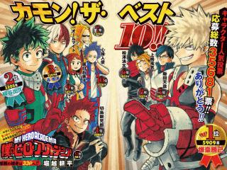 「僕のヒーローアカデミア」第3回人気投票結果発表!応募総数35681票!!